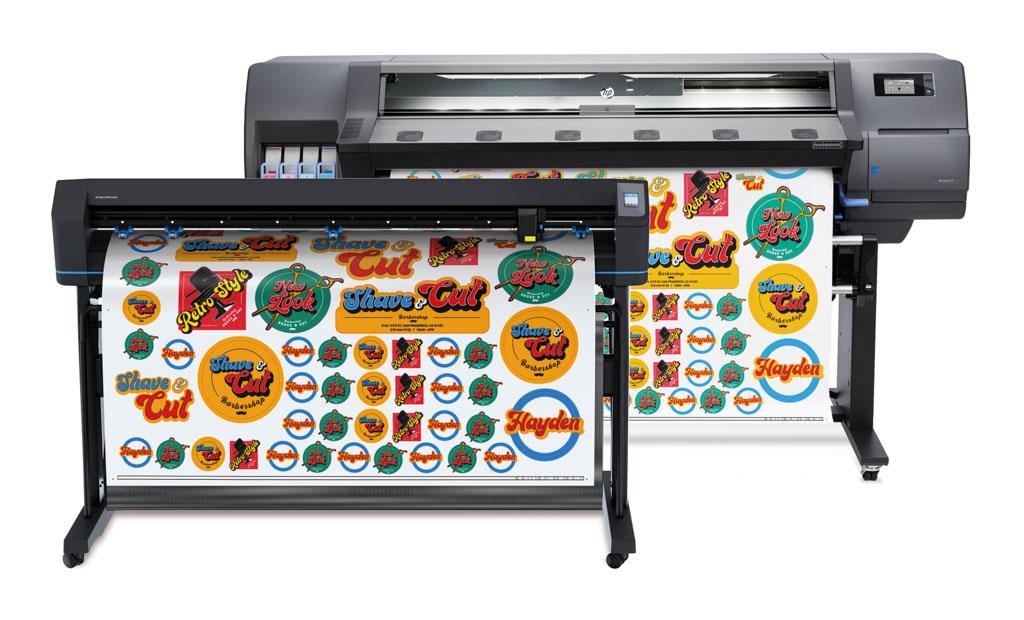 HP Latex 315 Print & Cut Plus Lösung