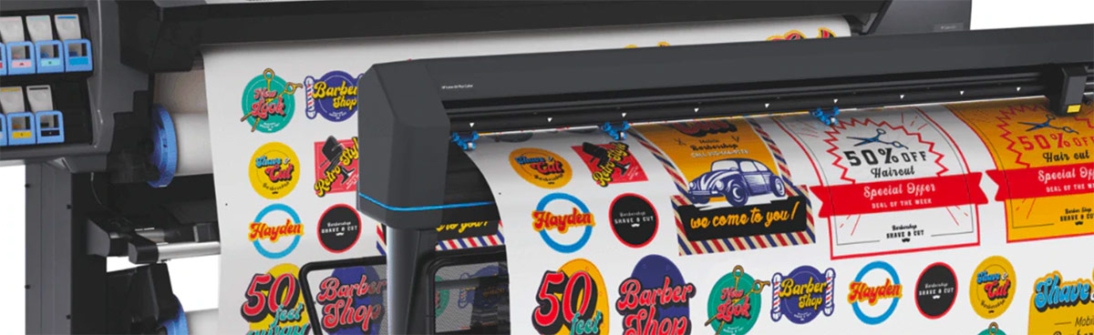 HP Latex 335 Print & Cut Plus Lösung