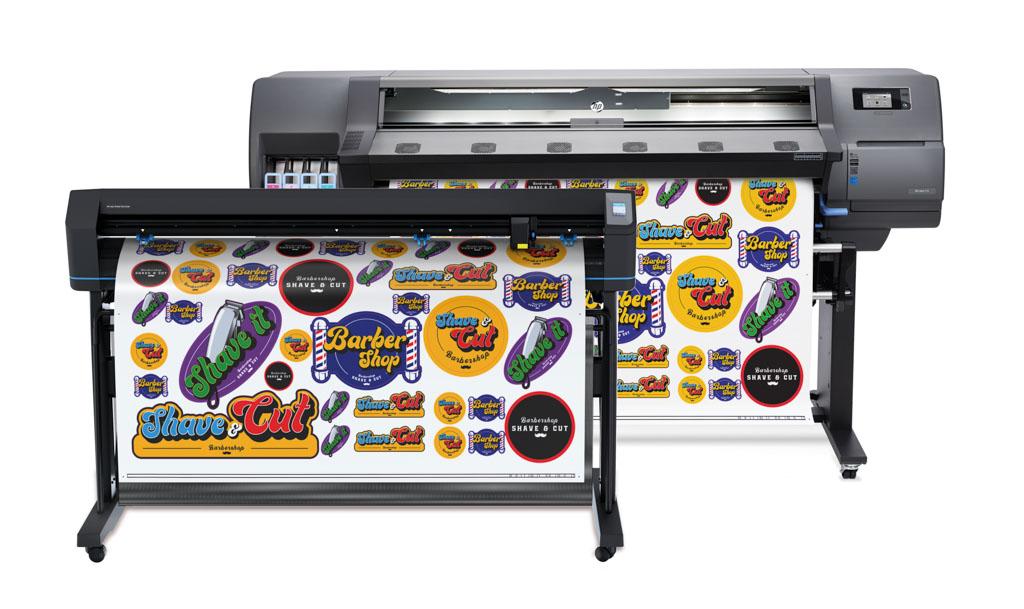 HP Latex 115 Print & Cut Plus Lösung